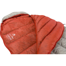 Sea to Summit Flame FmI Sleeping Bag Women Regular light grey/paprika